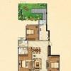 7#楼花园洋房二层A户型