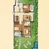 7#楼花园洋房一层C户型