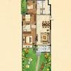 8#楼花园洋房一层F户型