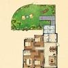 8#楼花园洋房二层B户型