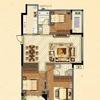 7#楼花园洋房标准层C户型