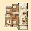8#楼花园洋房标准层B户型