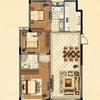 8#楼花园洋房标准层F户型