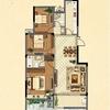 3#楼花园洋房二层G2户型图