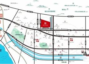 建业光明府位置交通图