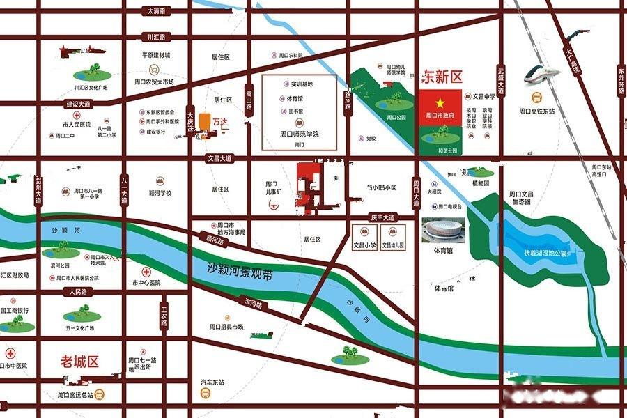 奥兰天和家园位置交通图