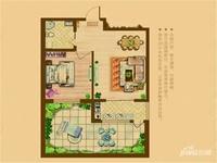 长江花园二期1室2厅1卫 62㎡