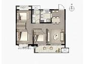 享·独立, 3室2厅1卫1厨, 建筑面积约94.00平米