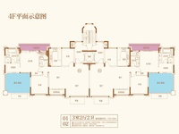 洋房4层 A/B153.16