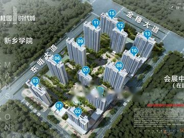 碧桂园时代城效果图