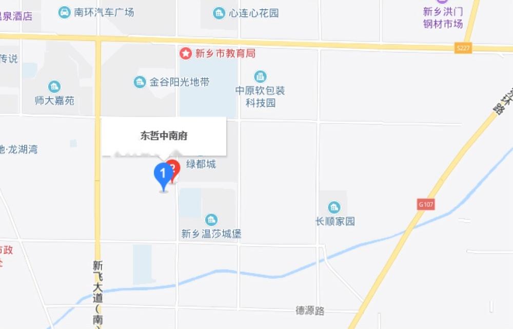东哲中南府位置交通图