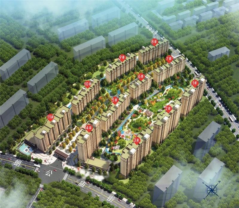 宸良南苑新城规划图